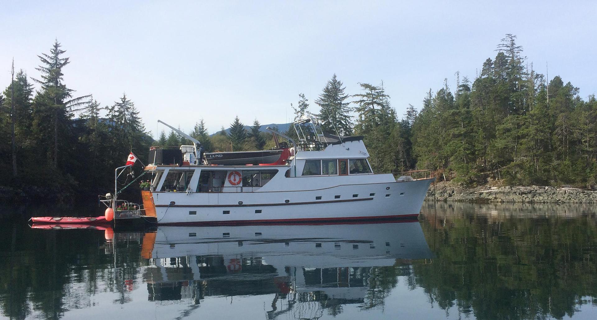 Northern Coastal British Columbia Salmon Fishing Charters