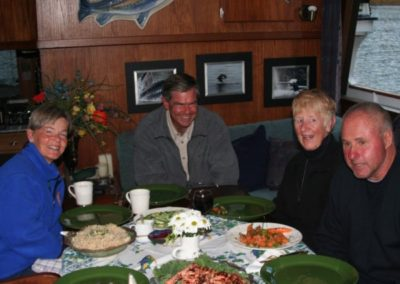 Gourmet Meals Prepared Onboard by Laurie